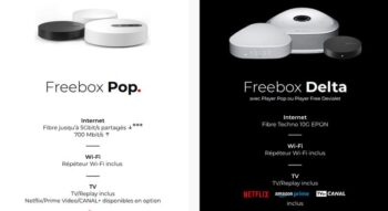 Forfait Box Free