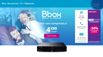 Forfait Box Internet Bouygues